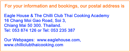For you information and booking
